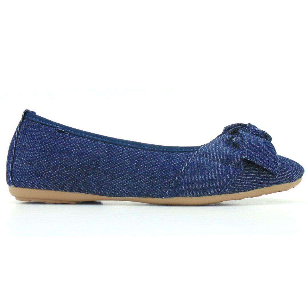 Sapatilha alpargata feminina jeans