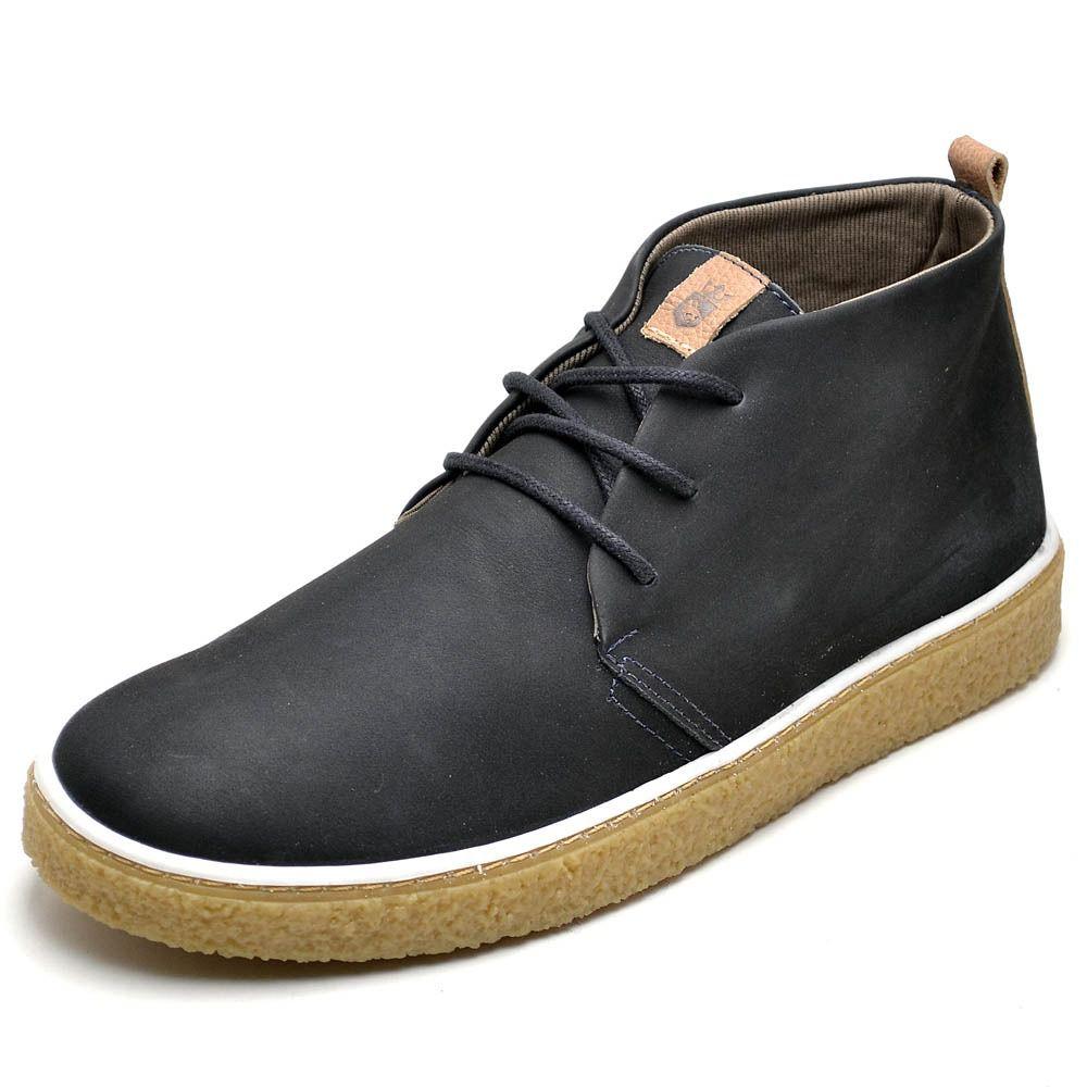 Sapato casual de couro super macio e confortável
