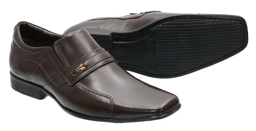 Sapato Social em couro legítimo 193 Atron Shoes