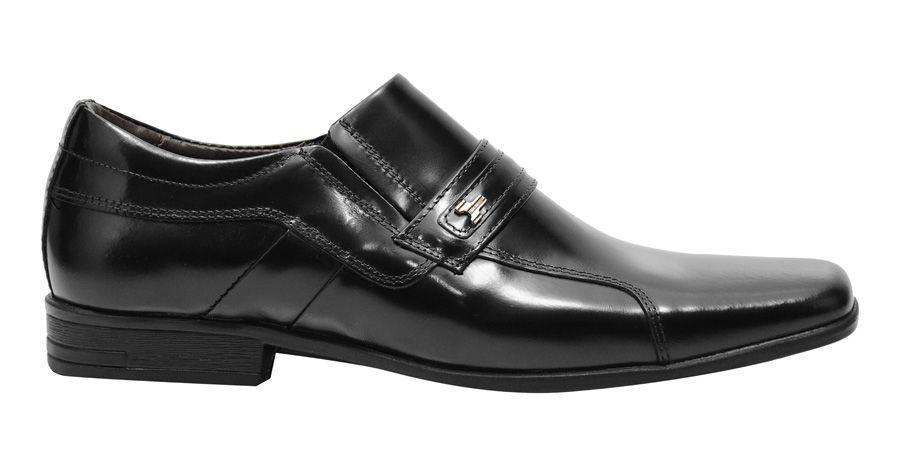 Sapato Social executivo em couro legítimo