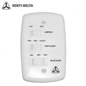 Controle De Velocidade Ventilador De Teto Venti-delta 127v