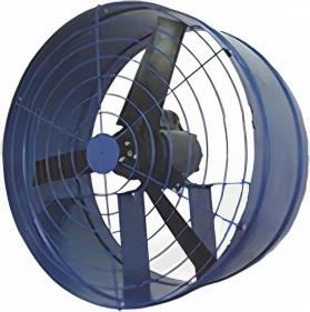 Exaustores Axiais 30 cm Mais Vento (Monofásico de Alta Rotação 1.750 RPM)