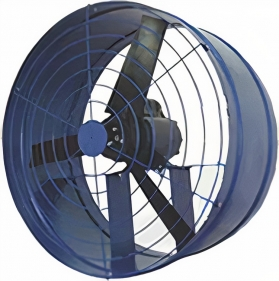 Exaustores Axiais 40 cm Mais Vento (Monofásico de Alta Rotação 1.750 RPM)