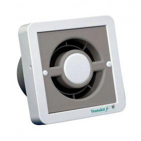 Exaustores Para Banheiro (Ambiente) 100mm DB Ventokit 80 (Indicado para até 5 M²)