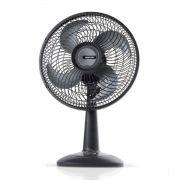 Ventilador de Mesa ECOTS 30 127 V Preto Mallory Silencioso e Potente