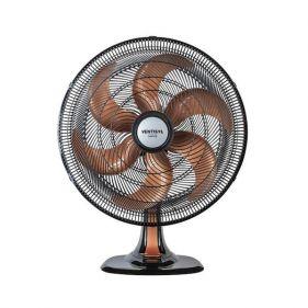 Ventilador de Mesa Ventisol 50 Turbo Preto c/ Bronze 127 V Silencioso