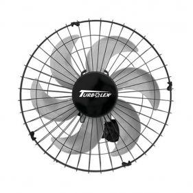 Ventilador de Parede Vitalex 50 Turbolex Bivolt Preto Potente