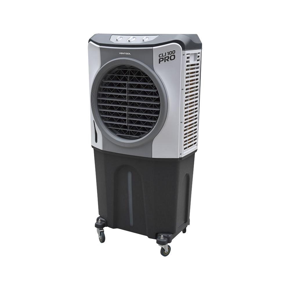 Climatizador CLI PRO 100 litros Evaporativo Industrial 210W Ventisol