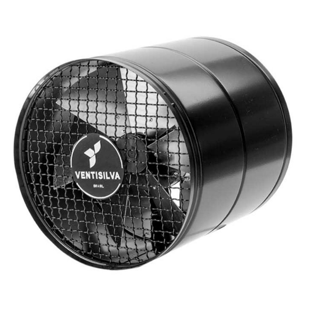 Exaustores Axiais 30 cm Ventisilva E 30 M4 (Monofásico de Alta Rotação 1.750 RPM)
