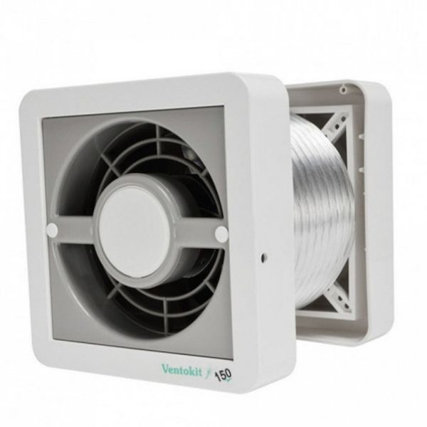 Kit Exaustores Para Banheiro (Ambiente) DB Ventokit 80 (Indicado para até 5 M²)
