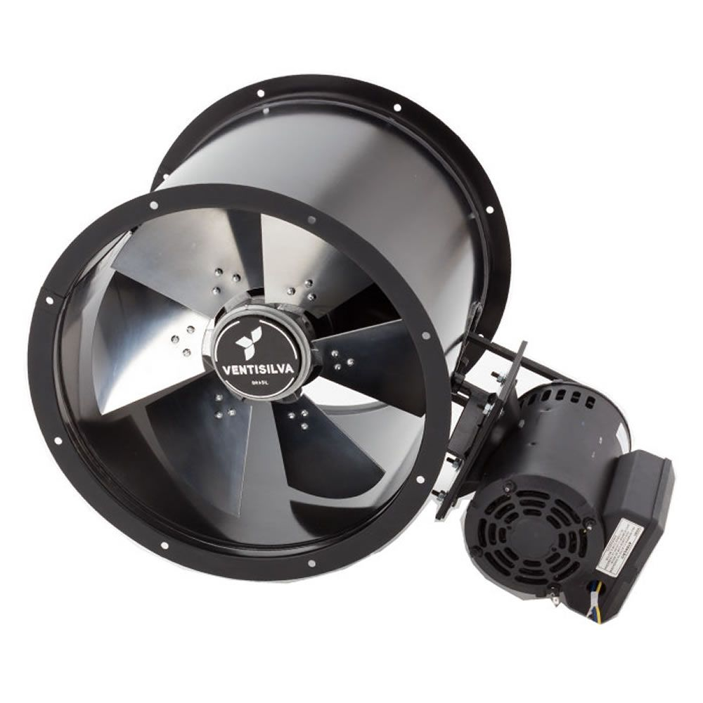 Exaustor de Transmissão (com Correia) Ventisilva E40 MTR (Monofásico - 1.735 RPM de 3/4 HP)