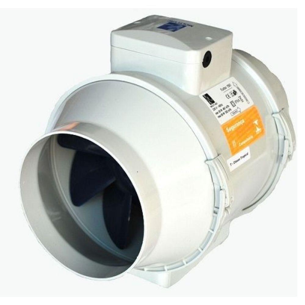 Exaustor Para Tubulação Longa Multivac Turbo 100