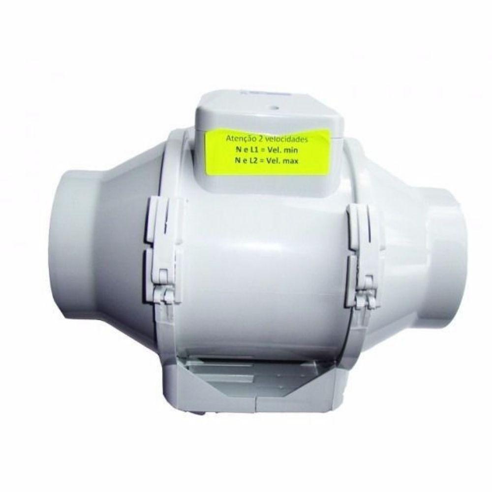 Exaustor Para Tubulação Longa Multivac Turbo 125