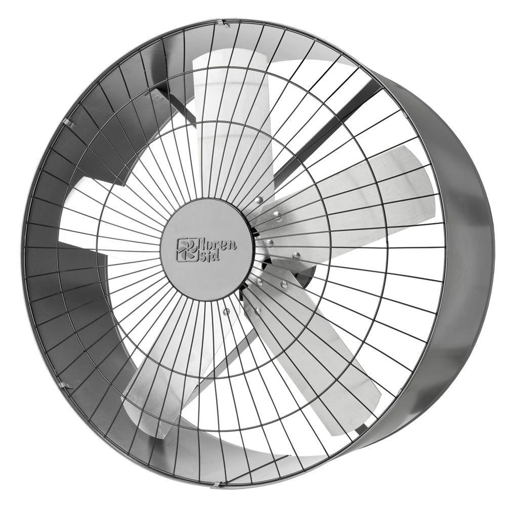 Exaustores Axiais 60 cm Loren Sid 60 (Monofásico de Alta Rotação 1.600 RPM)