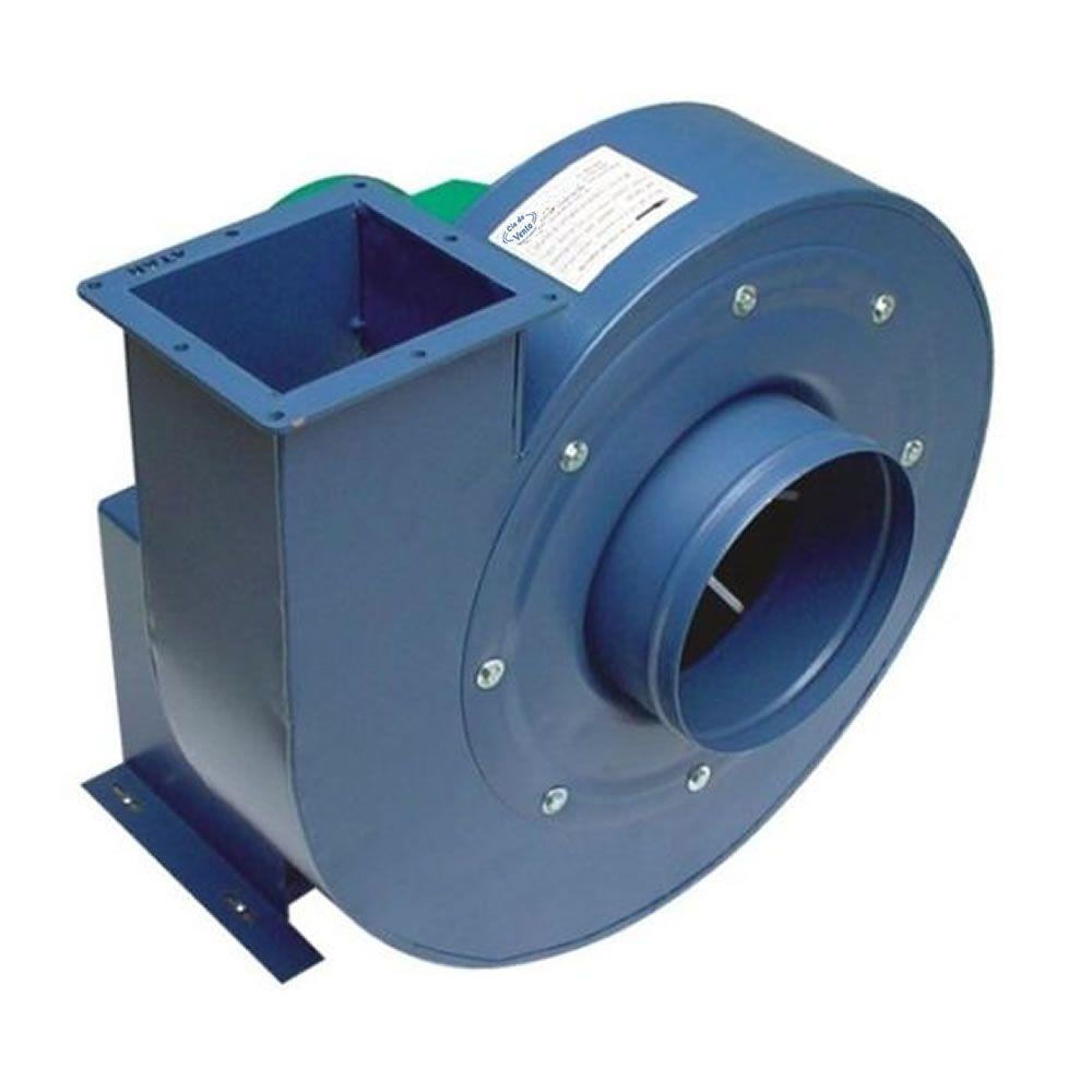 Exaustores Centrífugo Radial Cia do Vento ECV 1/2 TAR (Trifásico - 3.500 RPM de 1/2 HP)