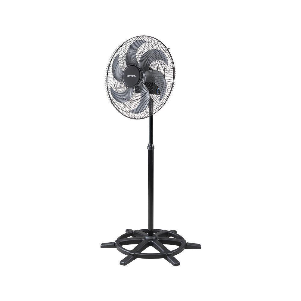 Ventilador de Coluna Ventisol 50 Bivolt Preto Steel Silencioso e Potente