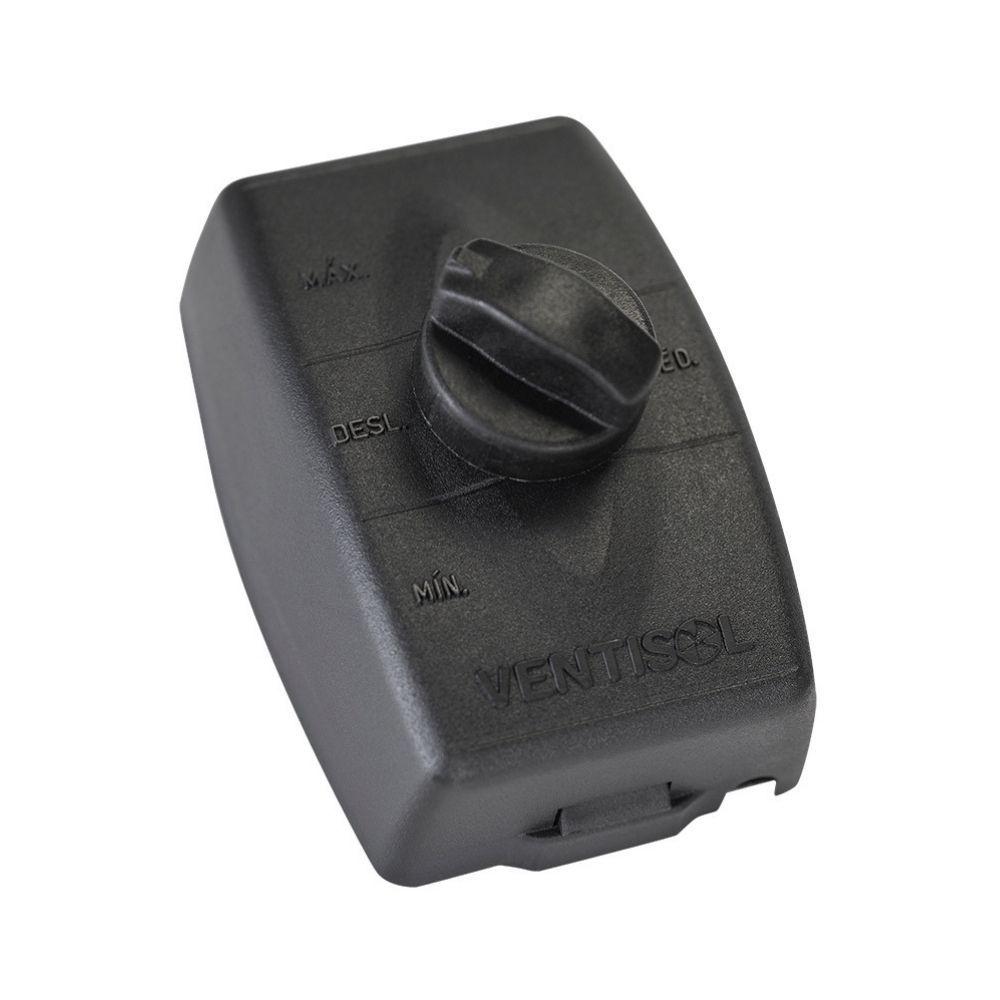 Ventilador de Parede Ventisol 50 Bivolt Steel Preto 200 W Silencioso