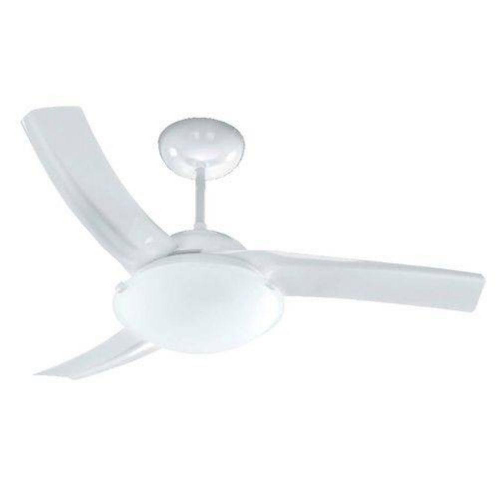 Ventilador de Teto Venti-Delta Sublime Branco 3 Pás 127V Silencioso e Potente