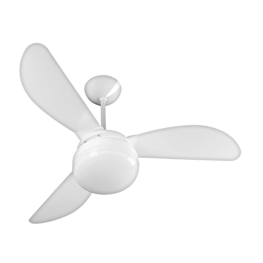 Ventilador de Teto Ventisol Fenix Branco 3 Pás 127V Potente
