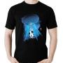 Camiseta Abdução Vaca Alien Et Ufo Ovni Alienigena