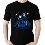 Camiseta Astronauta Navegando na galaxia - Espaço
