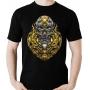 Camiseta Cyber Knight Caveira