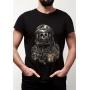 Camiseta Spaceman Astronauta Caveira Banda Rock Starman