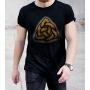 Camiseta Triquetra - Viking celta nordico Simbolo Dark