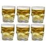 kit 6 Copos dose caveira vidro shot tequila pinga cachaça bebida viking