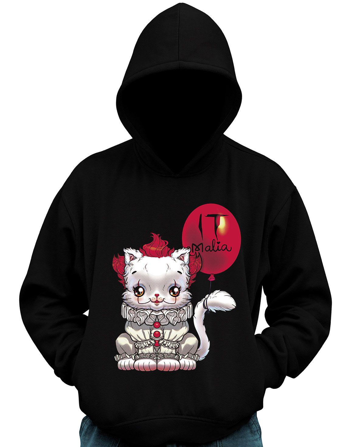Blusa De Moletom It Malia A Coisa Fofa Parodia Filme Terror  - Dragon Store
