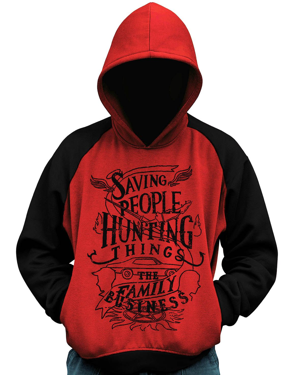Blusa De Moletom Supernatural Family Business Casaco  - Dragon Store
