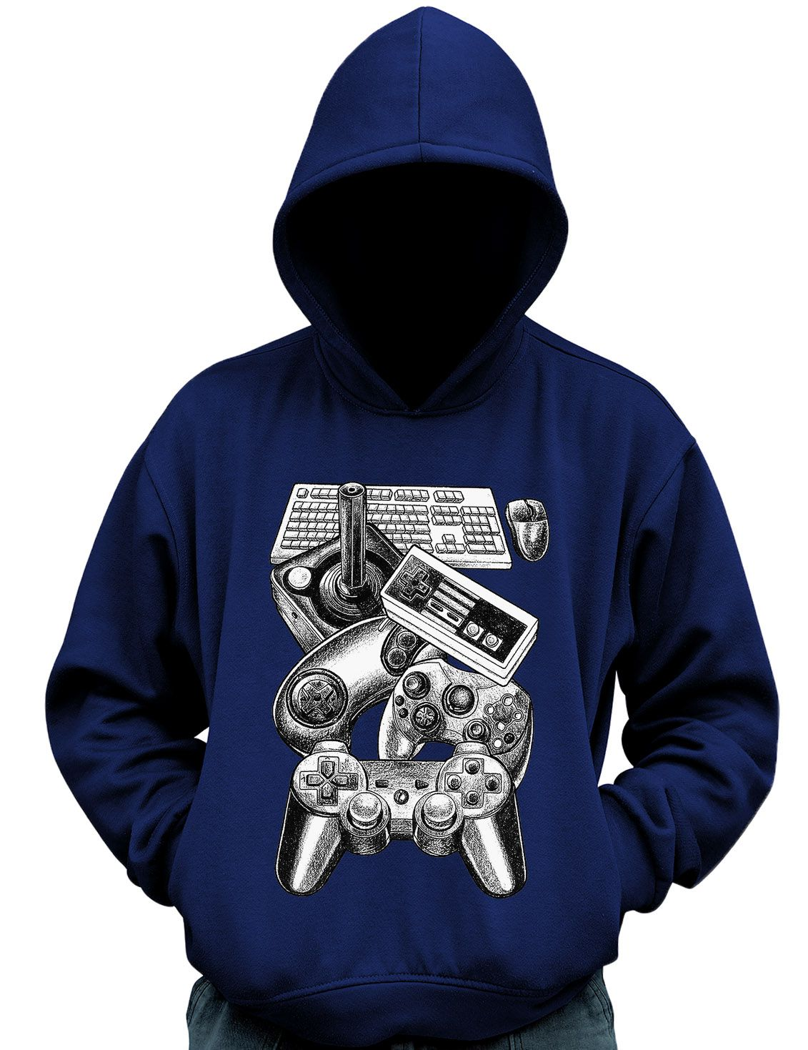 Blusa Moletom Controles Video Game Gamer controle Casaco  - Dragon Store