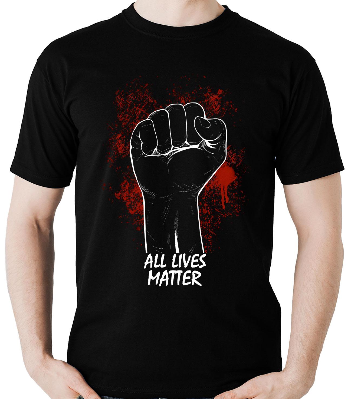 Camiseta All Lives Matter Todas as vidas importam B  - Dragon Store