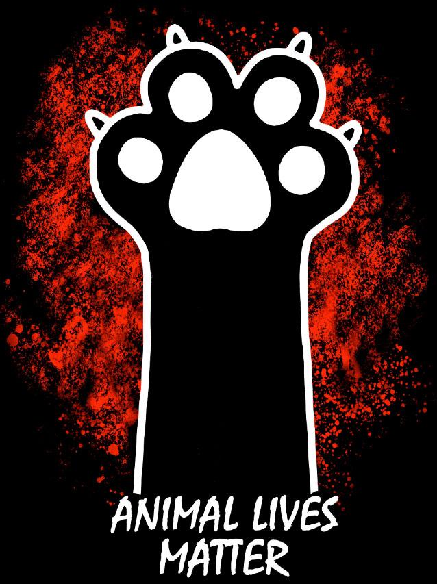 Camiseta Animal Lives Matter - Proteção à vida animal  - Dragon Store