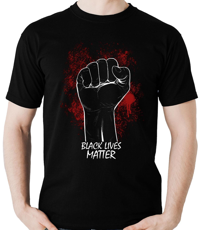 Camiseta Black Lives Matter Protesto Movimento Social