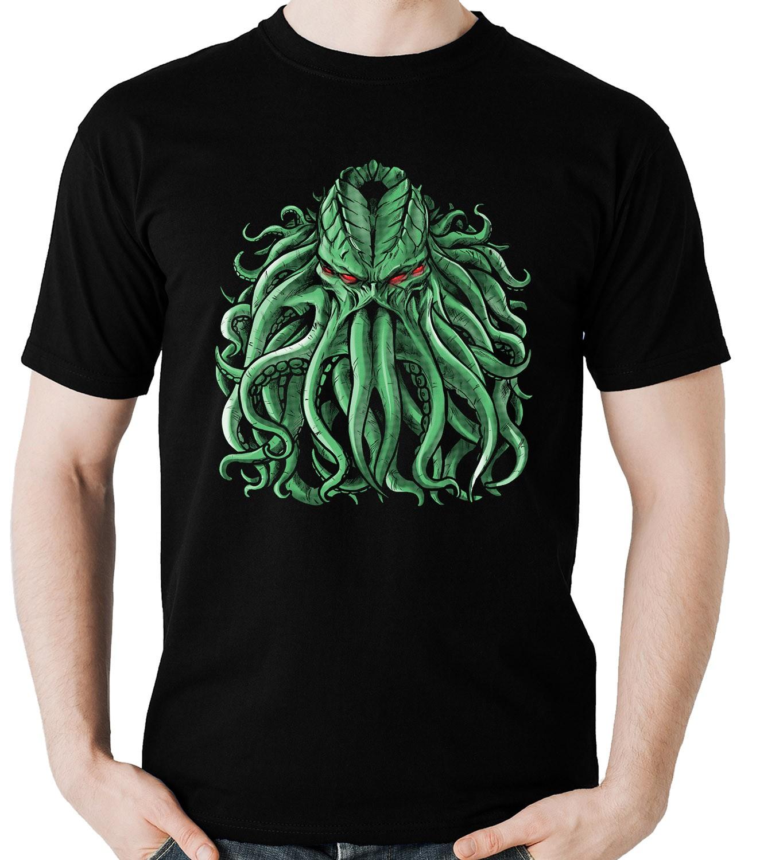 Camiseta Cthulhu Geek Rpg Camisa Blusa
