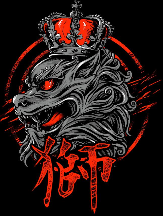 Camiseta geek Leão Guardião Shishi Mitologia Chines Japones  - Dragon Store