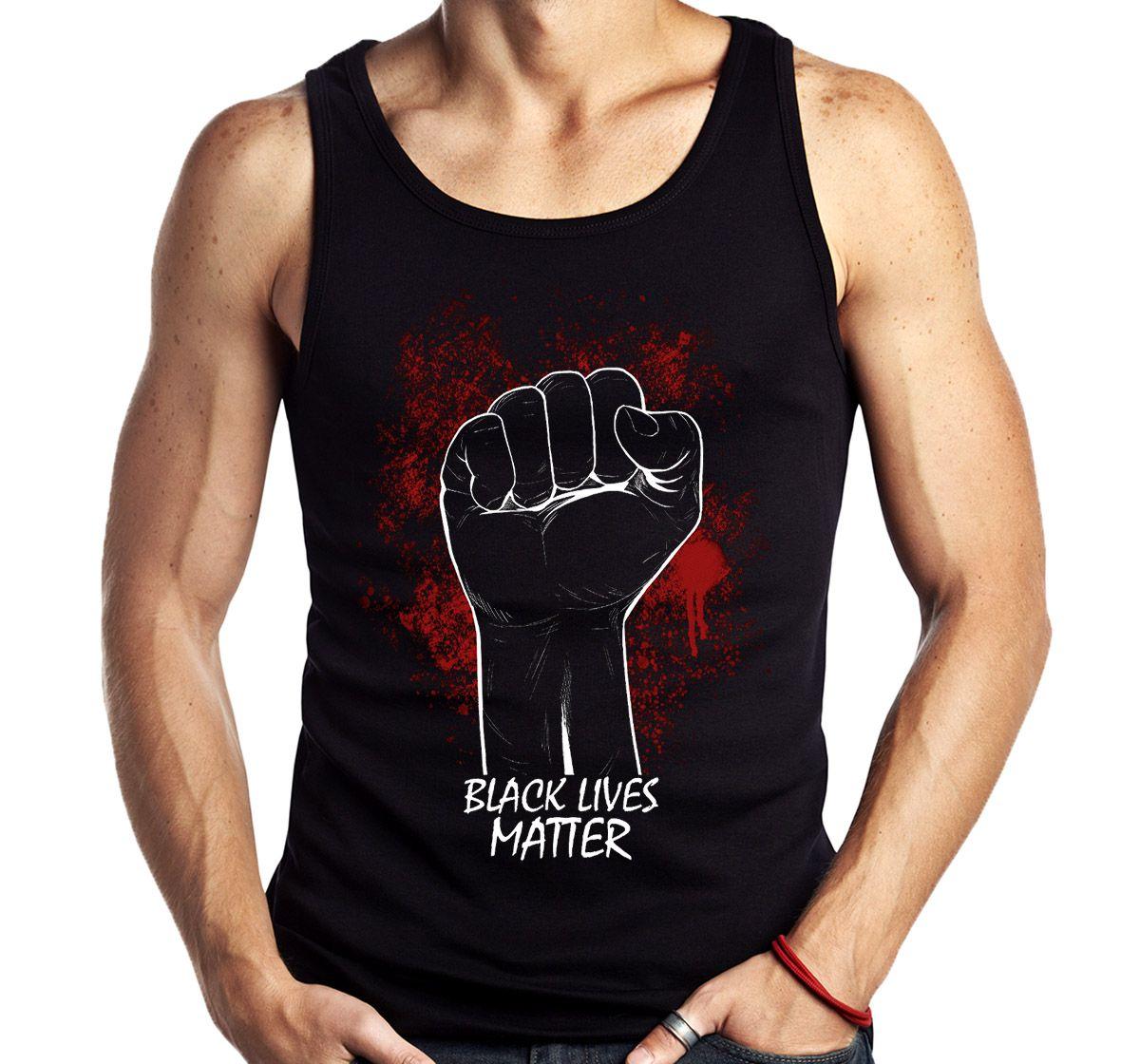 Camiseta Regata Black Lives Matter Protesto Movimento Social  - Dragon Store