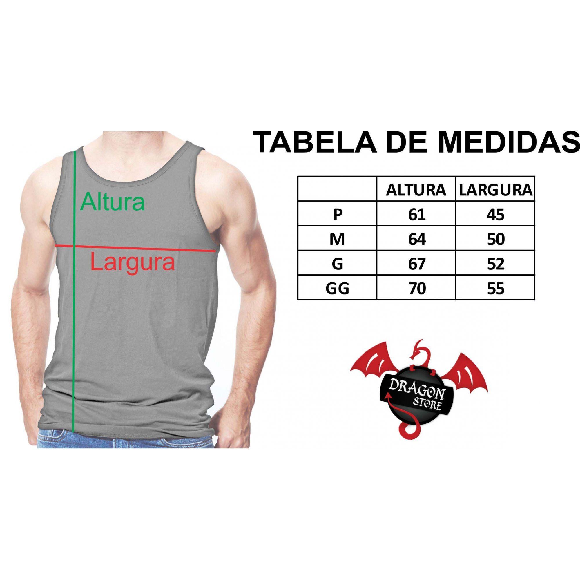 Camiseta Regata Geek Heavy Metal - Metal Pesado Parodia Banda Rock  - Dragon Store