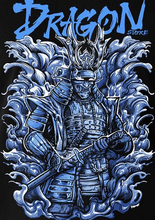 Camiseta Regata Kiryu, Lendário Samurai - Dragon Store  - Dragon Store