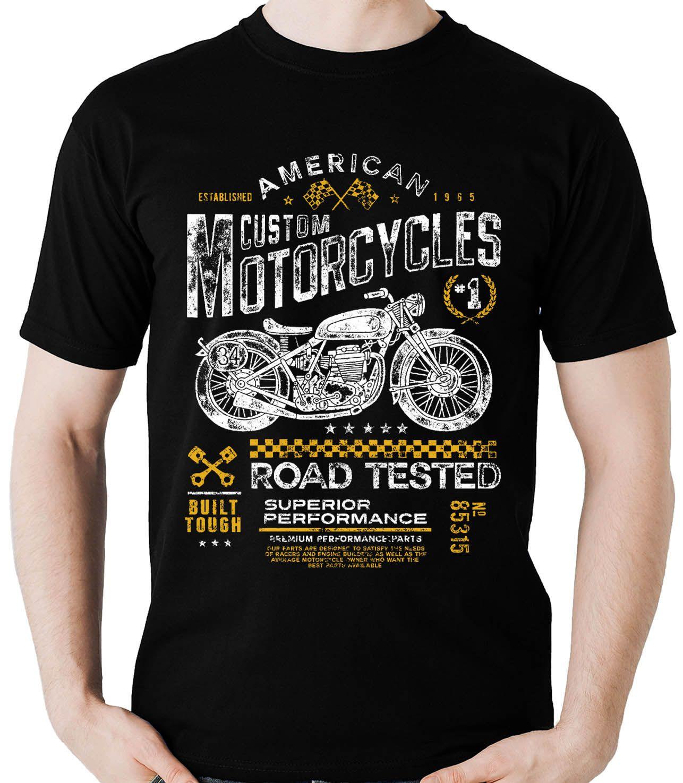 Camiseta Road Tested Motociclista Moto Motoqueiro A