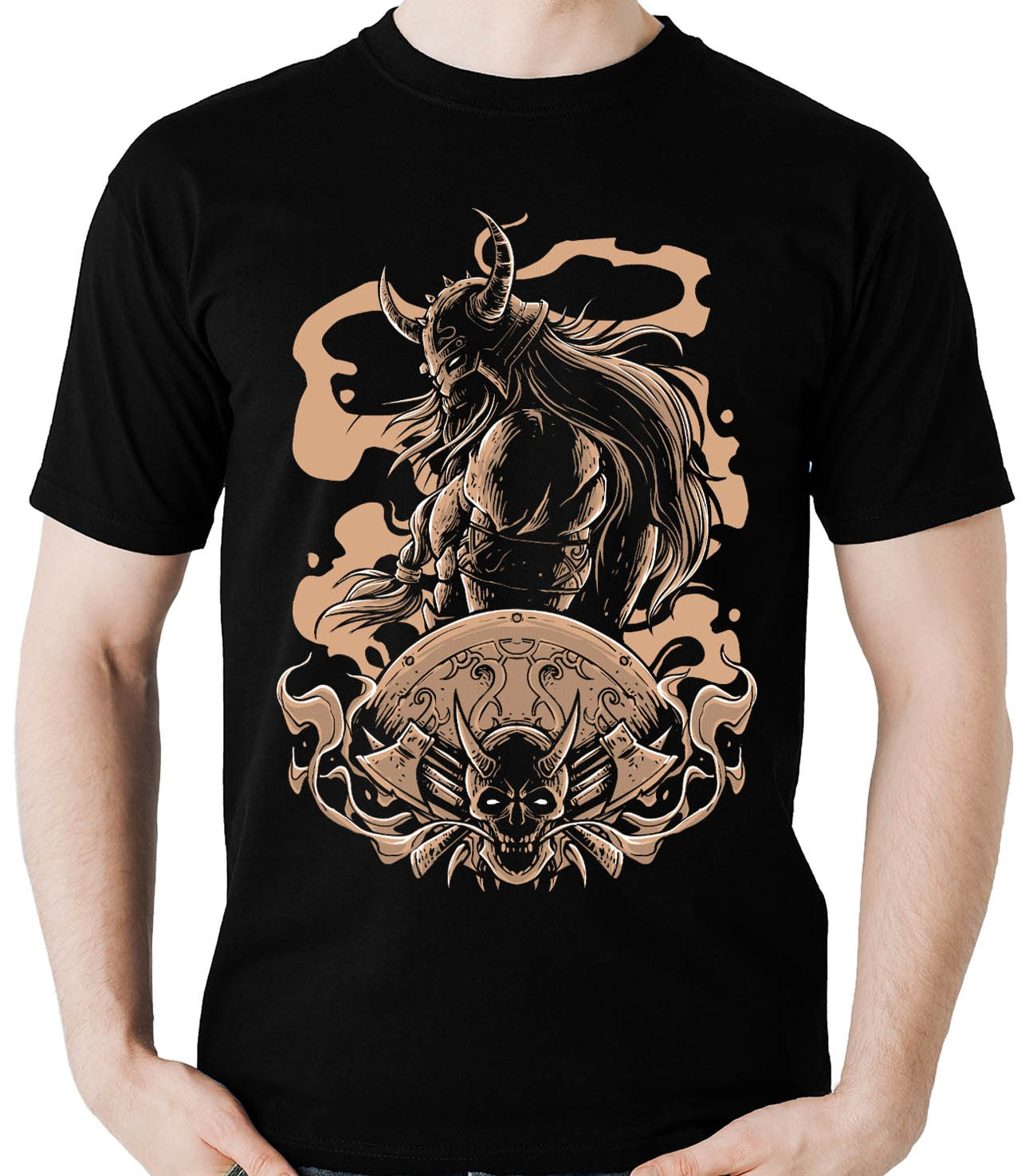 Camiseta Viking Barbaro celta Odin Thor Vikings Nordico  - Dragon Store