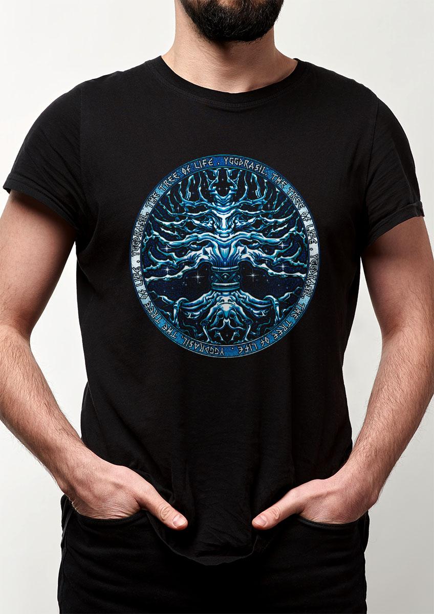 Camiseta Yggdrasil - Arvore da vida Viking celta nordico