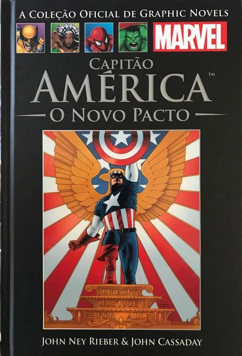Capitão América - O novo pacto Salvat nº 27 HQ Marvel Capa dura