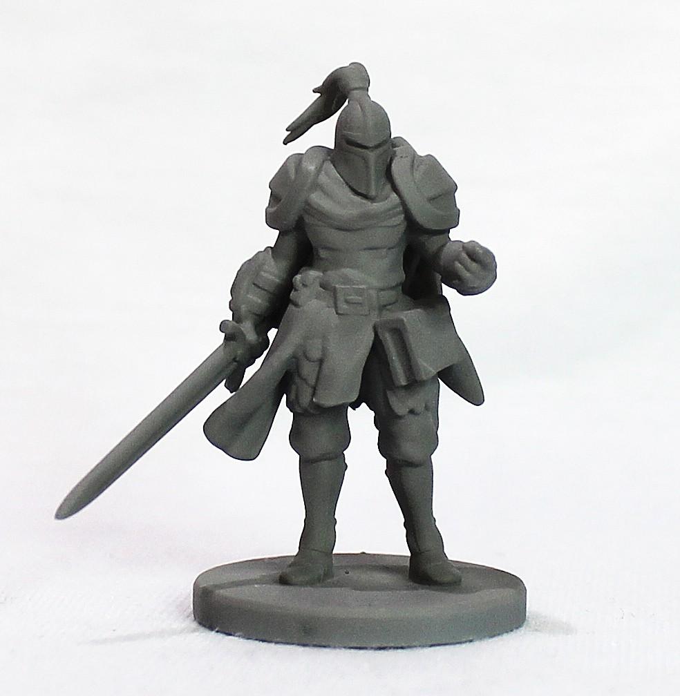 Cavaleiro miniatura RPG Boargame Hobby pintura - guerreiro