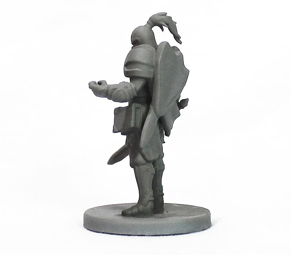 Cavaleiro miniatura RPG Boargame Hobby pintura - guerreiro  - Dragon Store