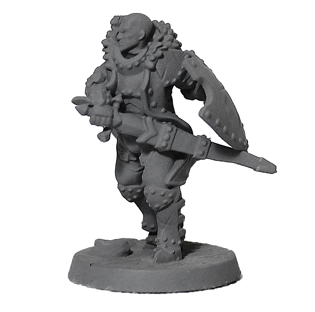 Cavaleiro miniatura RPG Boargame Hobby pintura - guerreiro M3  - Dragon Store