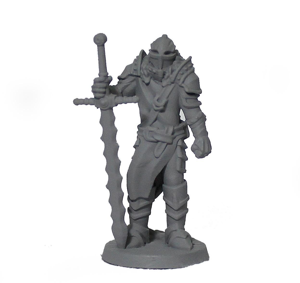 Cavaleiro miniatura RPG Boargame Hobby pintura - guerreiro M4