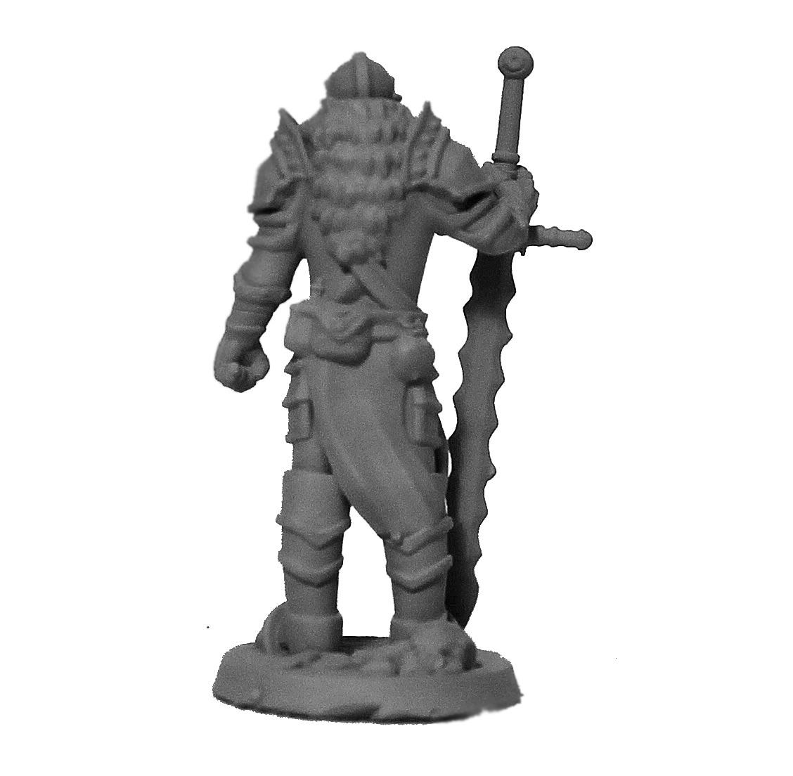 Cavaleiro miniatura RPG Boargame Hobby pintura - guerreiro M4  - Dragon Store