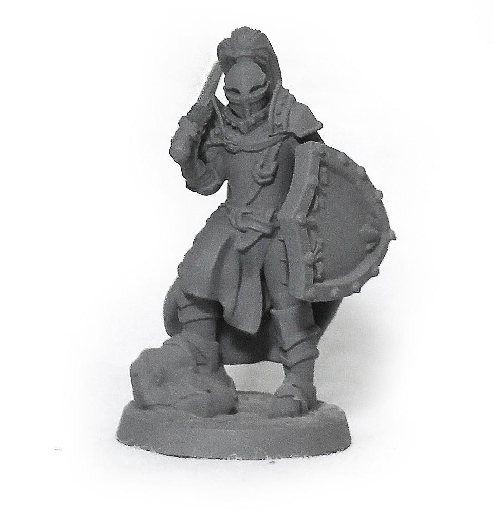 Cavaleiro miniatura RPG Boargame Hobby pintura - guerreiro M5
